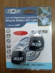 Pisca Silicone GTS para bicicleta - ilumina bem