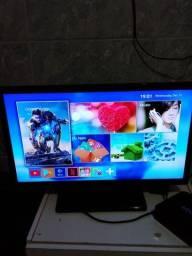 TV led 21 polegadas + TV box