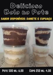 Título do anúncio: Delicioso Bolo no Pote (cupuaçu e danete}