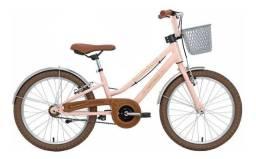 Bicicleta Retro Menina Aro 20 Antonella Rosa 8 12 Anos