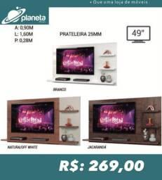 Painel de TV c/ prateleira de vista painel de tv painel para tv painel tv