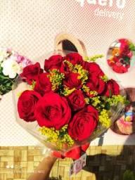 Título do anúncio: Ramalhete De flor(vermelha) para presente