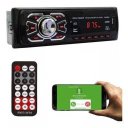 Radio Som Automotivo Usb Bluetooth Cartão Sd 4 X 25w Rca