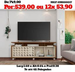 Rack com Painel de TV até 65 Polegada- Estante para TV-MS