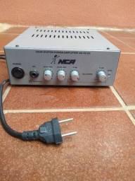 Vendo amplificador de som para casa.