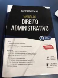 Manual Direito Administrativo