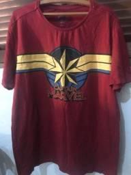 Camiseta Capitã Marvel Riachuelo