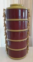 Conjunto de marmita térmica - 5 peças