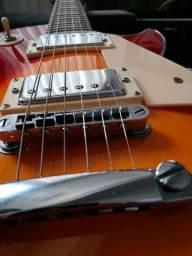 Título do anúncio: Guitarra Les Paul Strinberg CLP-79 super nova