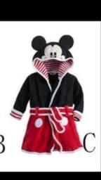 Título do anúncio: Roupão do mikey para criança de 1 ano