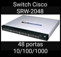 Equipamentos Cisco Switch 24 / 48 portas Gigabit