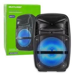 Caixa de Som Multilaser com Bluetooth - NOVA - Loja Física