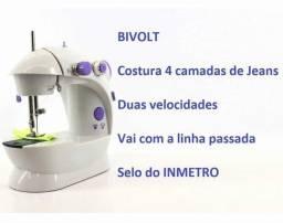 Mini Máquina De Costura Doméstica Portátil Bivolt: