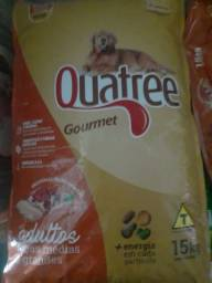 Título do anúncio: Quatree Gourmet Premium adultos de 15 kg promoção 110,00