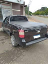 Título do anúncio: Chevrolet Montana LS 1.4 Econoflex Preta 2012