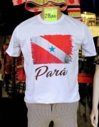 Camisas do PARÁ 100 % poliéster