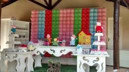 Itens para decoração de festa
