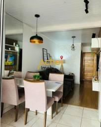 casa no loteamento Winter Park, com 2 dormitórios, sala, cozinha e banheiro semi mobiliado