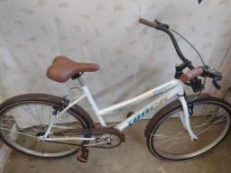 Título do anúncio: Vende se essa bicicleta feminina nova com documento