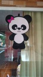Painel panda para festa infantil