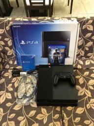 Playstation 4, 6 jogos e garantia