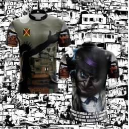 Promoção Camisetas dry fit Sabota e Grau