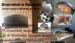 Empreiteira Raugust Construções e reformas