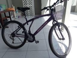 Título do anúncio: Bicicleta Houston Violeta Aro 26