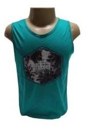 Kit 60 camiseta adulto regata