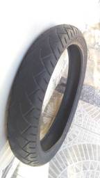 Título do anúncio: Vendo pneus de moto usados.