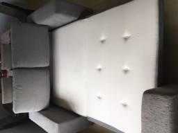 Sofá cama confortável de casal