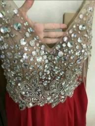 Vestido de festa vermelho, preço imperdível