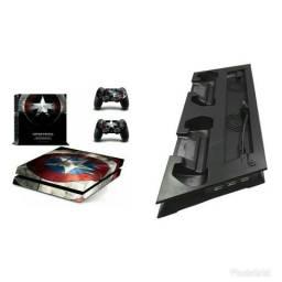 Adesivo e Cooler PS4 R$140,00