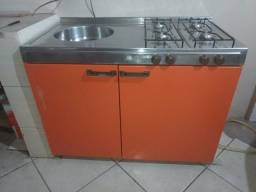 Cozinha Compacta 4 em 1 (Geladeira / Fogão / Pia / Armário)