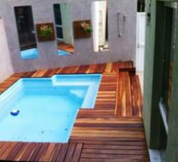 Casa em Piratininga, 3 quartos, piscina e sauna!