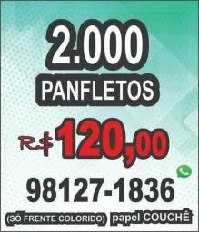Promoção - Panfleto - Folder - Flyer