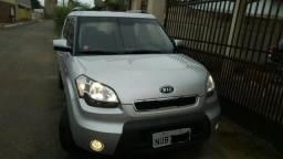 Kia Soul EX completíssimo, barato e confortável. Carro de patrão - 2012