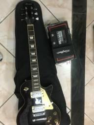 Guitarra Menphis mp-100 + Pedal digitech