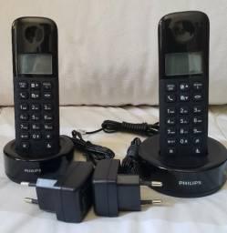 Telefone sem fio Philips com mais um canal