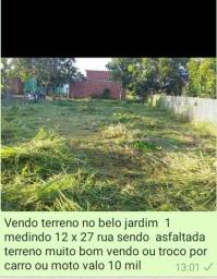 Vendo ou troco terreno no belo jardim 1