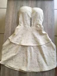 Vendo vestido branco P