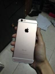 TROCO OU VENDO IPHONE 6s rosé