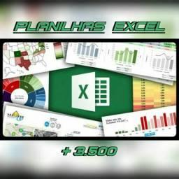 DVD: Mega Pacote de Planilhas Excel com mais de 3.500 Planilhas Editáveis