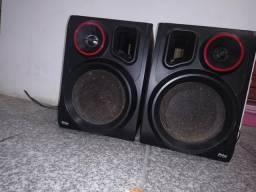 Duas caixa de som philco