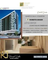 Melhor localização da ponta verde - quarto e sala ou 2 quartos - financiamento construtora