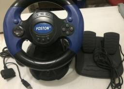 Volante e pedal Foston