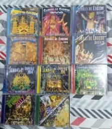 CDs Sambas de Enredo RJ 2007 - 2018