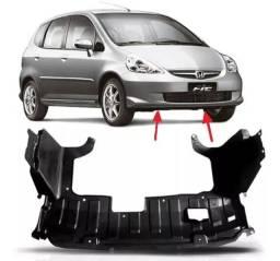Protetor Plastico Inferior Parachoque Honda Fit 2003 a 2008