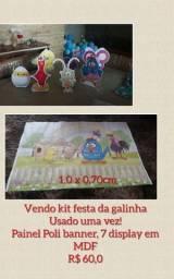 KIT FESTA DA GALINHA PINTADINHA