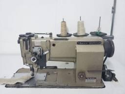 Maquina industrial 2 agulhas reta